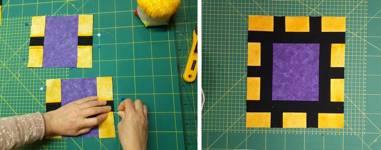 Utilització del cúter, la regla i la base de tall