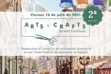Cartel2º Edició del Arts & Crafts Street Festival